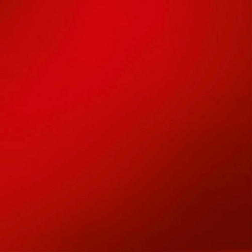 MEMOBOARD - röd, Basics, metall/glas (50/50cm) - EUROGRAPHICS