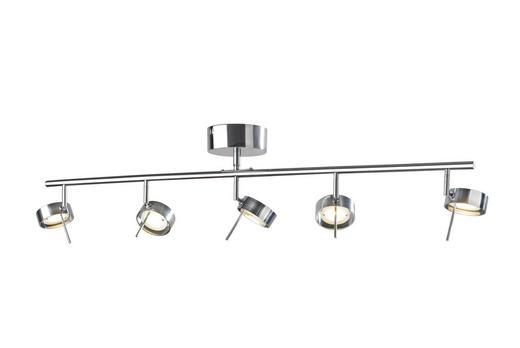 LED-DECKENLEUCHTE - Alufarben, MODERN, Metall (5/102cm)