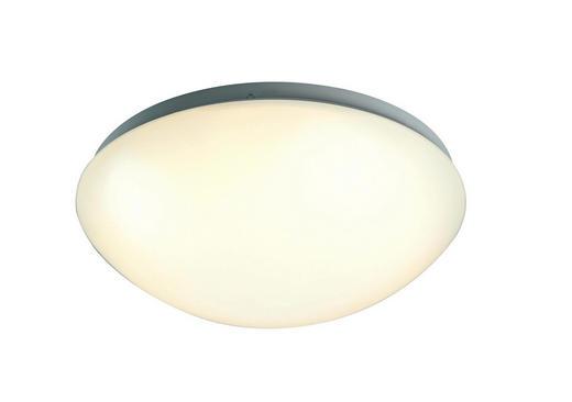 STROPNA LED SVETILKA RING - bela, Konvencionalno, kovina/umetna masa (26/26/8cm) - Boxxx