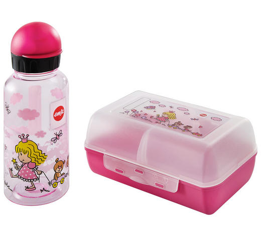 Kinder-Pausenset - Rosa, LIFESTYLE, Kunststoff (16/11/7cm) - Emsa