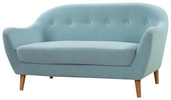DVOSED,  modra les, tekstil - modra, Trend, tekstil/les (147/79/82cm) - Ti`me