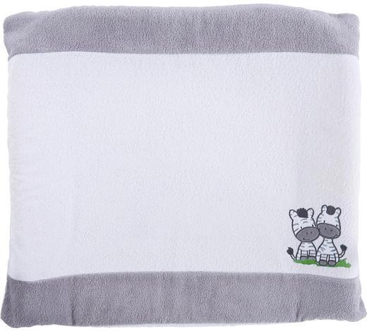 POTAH NA PŘEBALOVACÍ PODLOŽKU - šedá/bílá, Basics, textil (75/85cm) - My Baby Lou