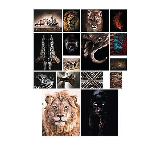 Poster zum selber ausschneiden - Multicolor, KONVENTIONELL, Papier (100/140cm) - Reinders Next
