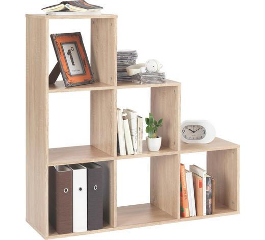 REGÁLOVÝ DÍL - Sonoma dub, Design, kompozitní dřevo (112/114/35cm)