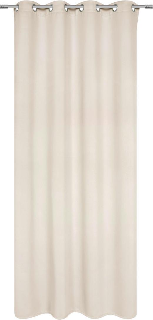 ÖSENVORHANG black-out (lichtundurchlässig) - Champagner, Basics, Textil (140/245cm) - Esposa
