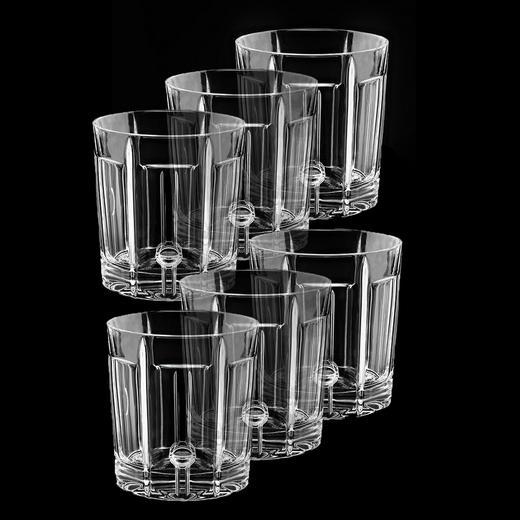 GLÄSERSET 6-teilig - Transparent, KONVENTIONELL, Glas (8.3/8.3/9.3cm)