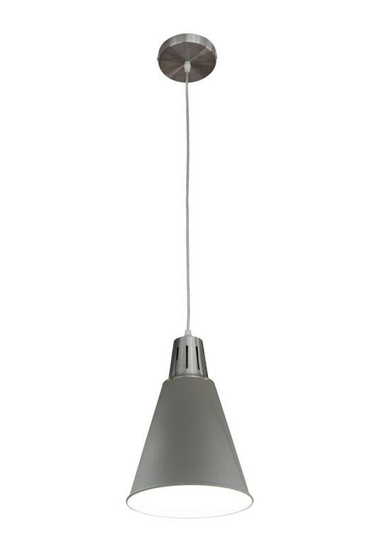 HÄNGELEUCHTE - Silberfarben/Grau, MODERN, Metall (22/150cm)