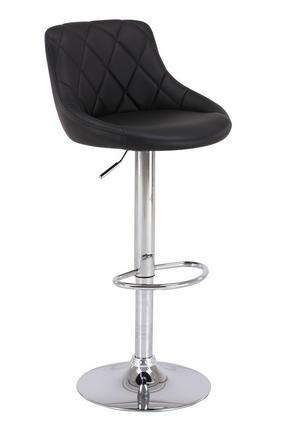 BARPALL - kromfärg/svart, Design, metall/textil (47,5/82-103/52cm) - Carryhome