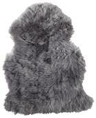 KŮŽE OVČÍ - šedá, Basics, textil (65/45cm) - LINEA NATURA