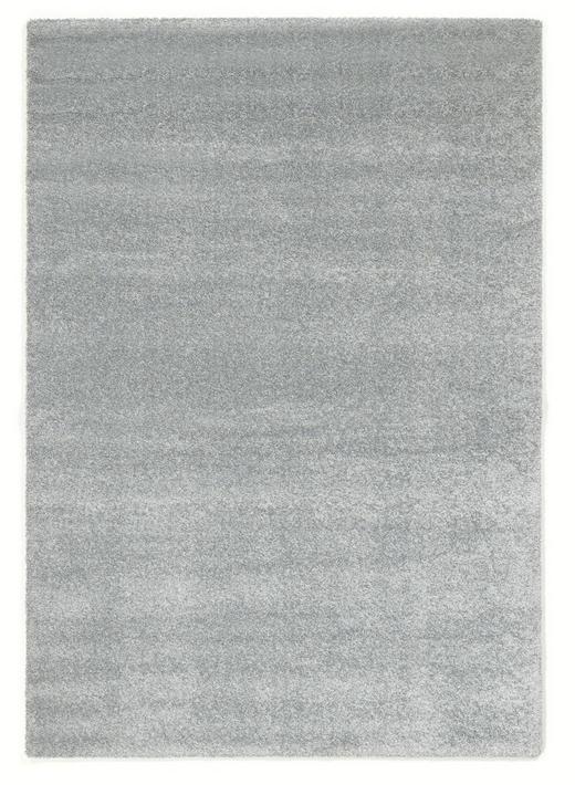 HOCHFLORTEPPICH   gewebt  Mintgrün - Mintgrün, Basics, Textil (65/130/cm) - Novel