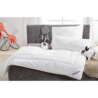 GANZJAHRESBETT  155/220 cm   - Creme, Basics, Textil (155/220cm) - Sleeptex
