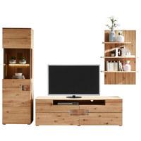OBÝVACÍ STĚNA, barvy dubu - barvy dubu, Konvenční, dřevo/dřevěný materiál (280/201,5/47,7cm) - Cantus