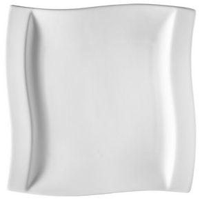MATTALLRIK - vit, Klassisk, keramik (26/26,5cm) - Novel