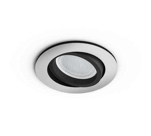 EINBAULEUCHTE HUE WHITE COLOR  - Alufarben, Design, Metall (10/9cm) - Philips