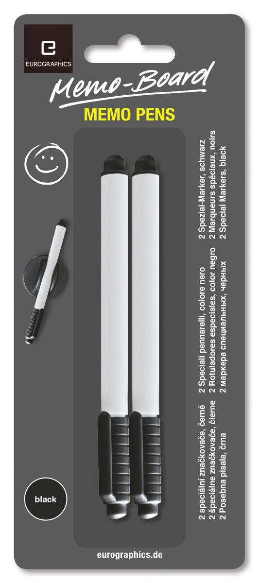 ÖVERSTRYKNINGSPENNA - svart, Basics, plast (8/20/0.2cm) - EUROGRAPHICS