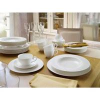 SUPPENTELLER Bone China  - Weiß, Basics, Keramik (24cm) - Villeroy & Boch