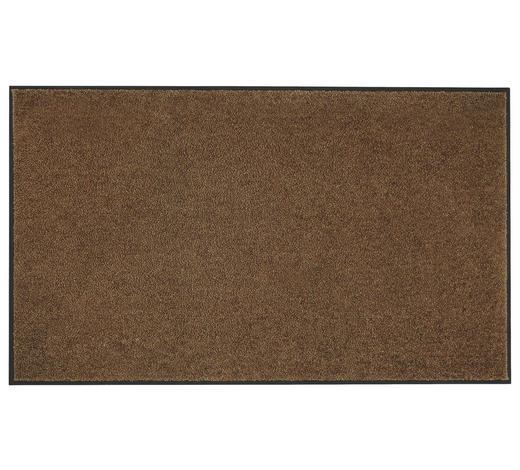 FUßMATTE 90/150 cm  - Braun, KONVENTIONELL, Textil (90/150cm) - Esposa