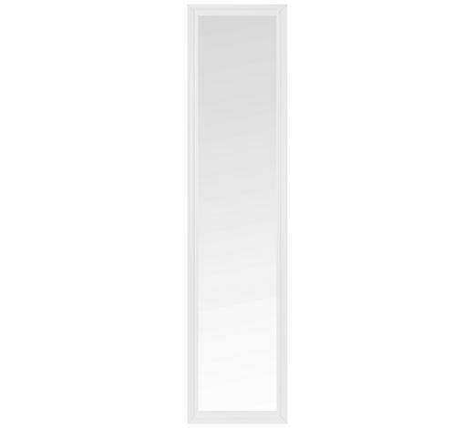 SPIEGEL Weiß  - Weiß, KONVENTIONELL, Glas/Holzwerkstoff (40/160/2,8cm) - Carryhome