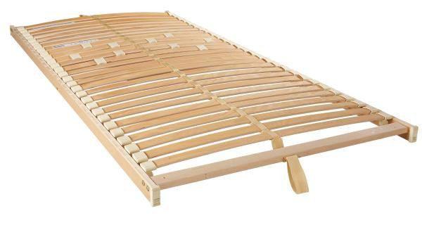 RIBBOTTEN, 140/200 CM - bokfärgad/björkfärgad, Basics, trä/plast (140/200cm) - Sleeptex