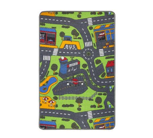 IGRALNA PREPROGA CITY - večbarvno, Basics, tekstil (80/120cm) - Boxxx
