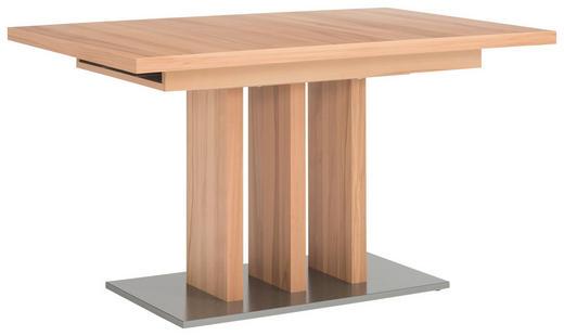 ESSTISCH Kernbuche furniert rechteckig Buchefarben - Buchefarben, KONVENTIONELL, Holz/Holzwerkstoff (120(168)/90/75cm) - Moderano