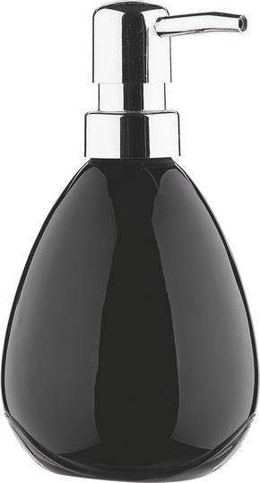 TVÅLPUMP - svart, Basics, keramik (9.5/16cm)