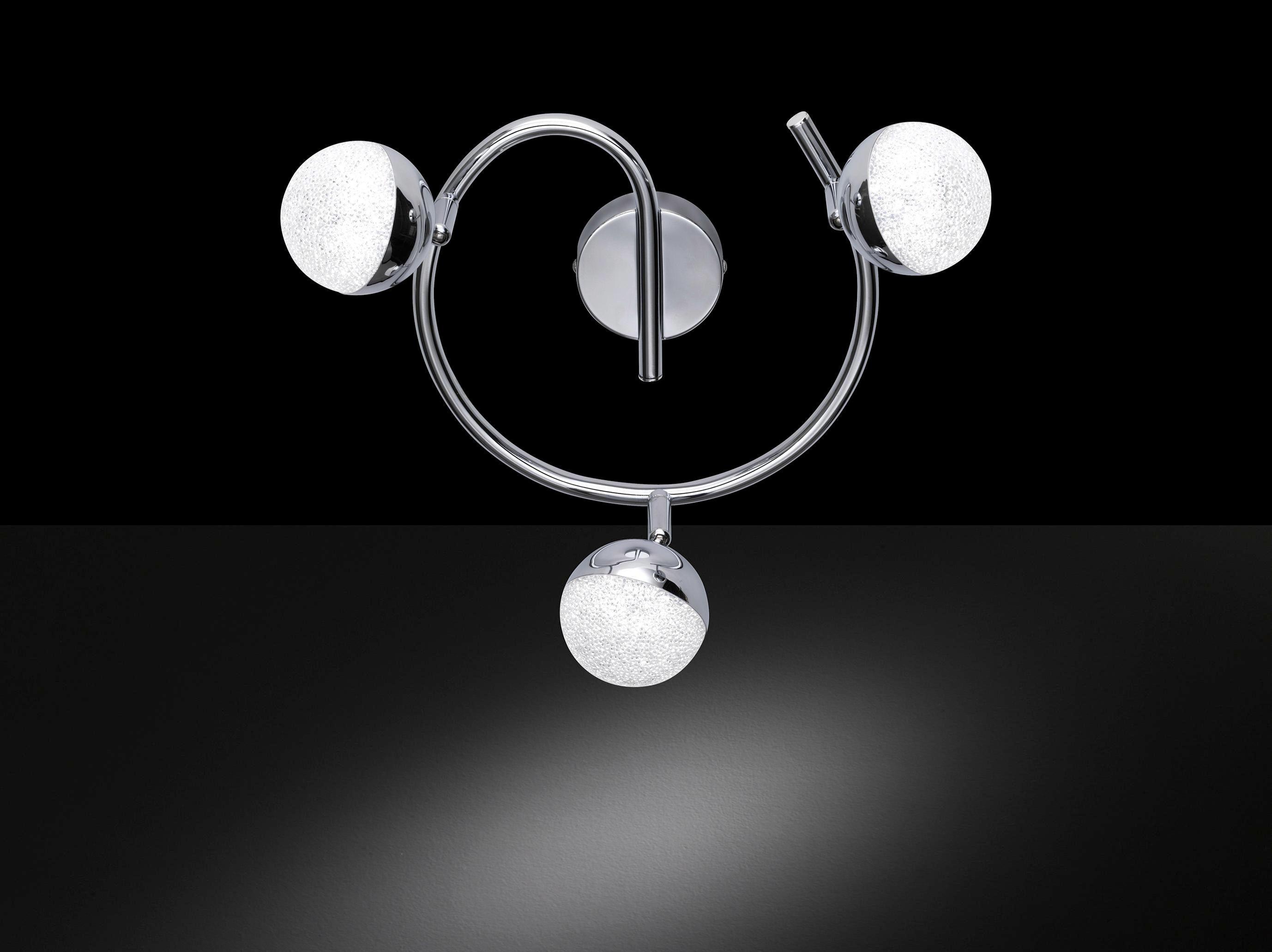 LED-SPOT - kromfärg, Lifestyle, metall/plast (27/27cm)