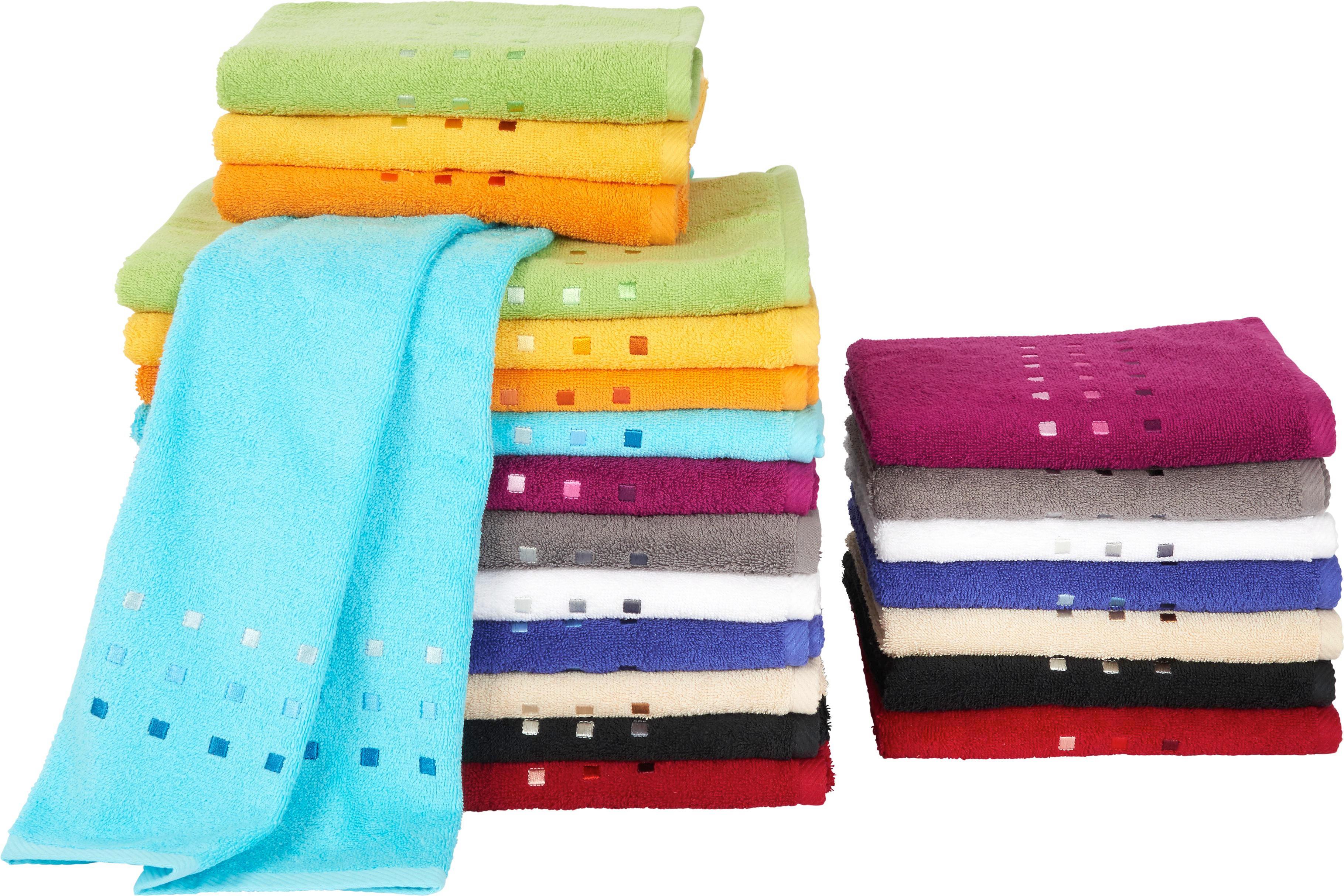 DUSCHTUCH 70/140 cm - Schwarz, Basics, Textil (70/140cm) - ESPOSA