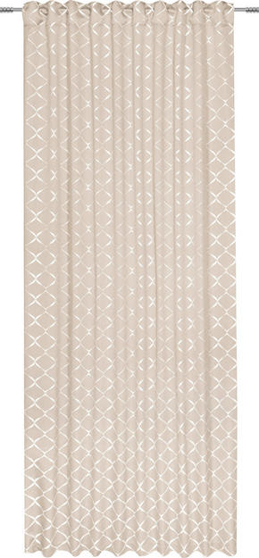 GARDINLÄNGD - beige, Design, textil (140/245cm) - Esposa