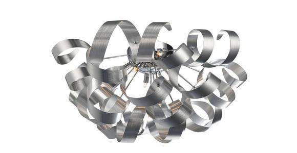 LED-DECKENLEUCHTE - Alufarben, Design, Metall (70/40cm) - Ambiente