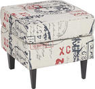 TABURET, dřevo, textil, Multicolor - barvy wenge/Multicolor, Lifestyle, dřevo/textil (49/44/49cm) - CARRYHOME
