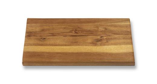 SCHNEIDEBRETT Holz Akazie - Akaziefarben, Basics, Holz (23/15/1cm) - Homeware