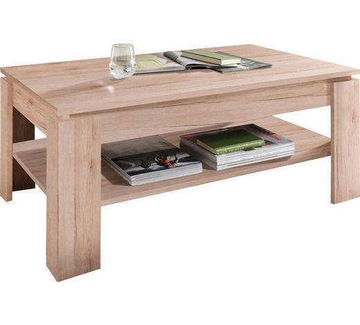 COUCHTISCH in Holzwerkstoff 110/65/47 cm - Eichefarben, Design, Holzwerkstoff (110/65/47cm) - Carryhome