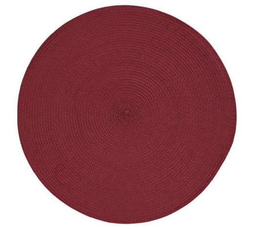 TISCHSET 38/38 cm Textil - Rot, Basics, Textil (38/38cm) - Homeware