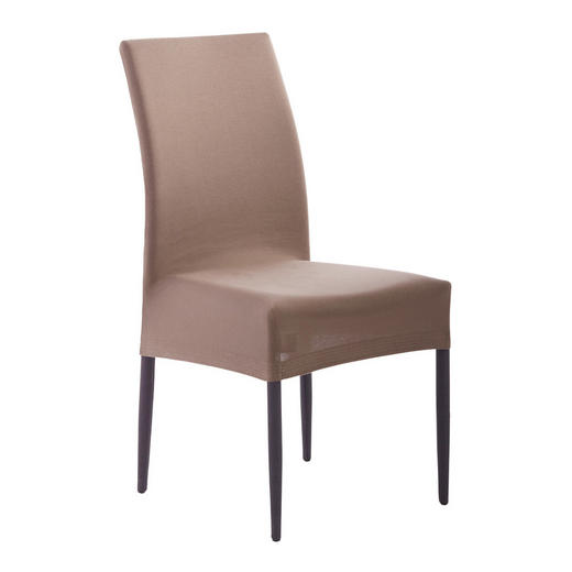 STUHLHUSSE Taupe - Taupe, Design, Textil (40/45/65cm) - Esposa