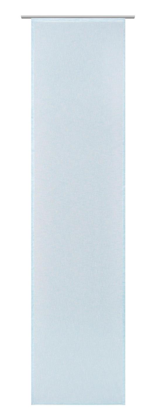 FLÄCHENVORHANG   halbtransparent  60/245 cm - Blau, Basics, Textil (60/245cm) - Novel