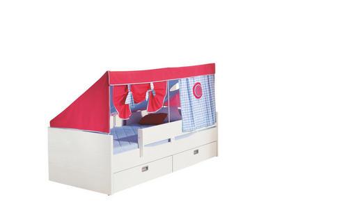 BETT 90/200 cm  in Weiß - Weiß, KONVENTIONELL, Holzwerkstoff (90/200cm) - Paidi