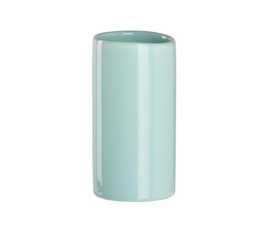 MUNDSPÜLBECHER Keramik - Mintgrün, Basics, Keramik (6,5/12,4cm) - Sadena