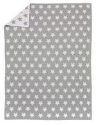 BABYDECKE - Silberfarben/Weiß, Basics, Textil (75/100cm) - Alvi