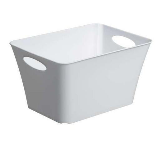 KOŠARA - bijela, Design, plastika (43.1/32.1cm) - Rotho