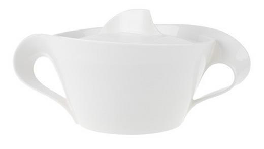 SCHÜSSEL Keramik Porzellan - Weiß, Basics, Keramik (2,2l) - Villeroy & Boch
