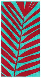 STRANDTUCH 90/180 cm - Pink/Mintgrün, Design, Textil (90/180cm) - Novel