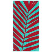 STRANDTUCH 90/180 cm - Pink/Mintgrün, Trend, Textil (90/180cm) - Novel