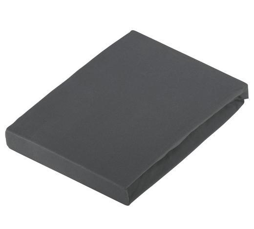 BOXSPRING-SPANNBETTTUCH 100/220 cm - Grau, Basics, Textil (100/220cm) - Novel