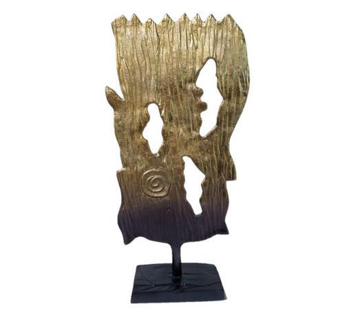 Skulptur - Silberfarben, Trend, Metall (22/47/11cm) - Ambia Home