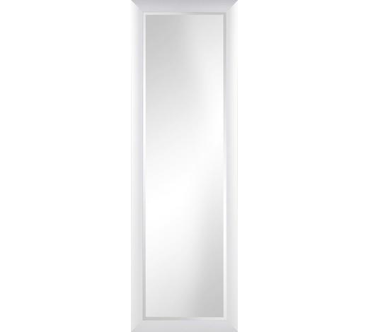 WANDSPIEGEL  - Weiß, Design, Glas/Holzwerkstoff (47/147cm) - Carryhome