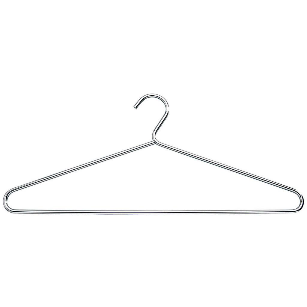 Boxxx Kleiderbügel metall chromfarben