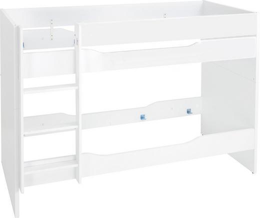 ETAGENBETT 90/200 cm Weiß - Weiß, Design, Holzwerkstoff (90/200cm) - Paidi