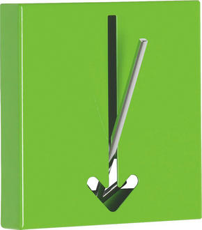 KROK - grön, Design, metall (16,4/17/2,8cm)