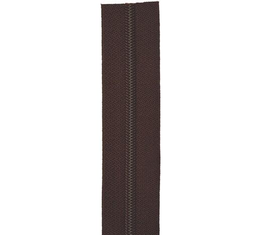 REIßVERSCHLUSS 100 cm - Braun, Basics, Textil (100cm)